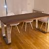 Patas de mesa de pletina de acero