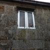 Limpiar la piedra exterior de mi vivienda con chorro de arena