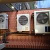 Puertas para tapar aparatos aire acondiconado en terraza