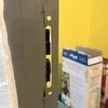 Cambio sistema apertura puerta aluminio