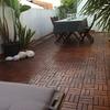 Instalación soleria en terraza sobre soleria antigua
