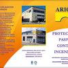 Protección pasiva contra el fuego (r 90) de estructura metálica heb-240 e ipe-300