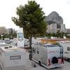 Instalación eléctrica en aparcamiento y area de servicio para autocaravanas a construir