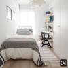 Dividir living en dos habitaciones individuales