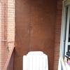 Armario aluminio para balcón dentro deberá ir la caldera y espacio de almacenaje