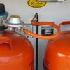 Instalación de gas de cocina a bombona en armario