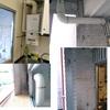 Sustitución instalación calentador gas butano