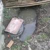 Canalizacion con tubo rigido desde fosa septica hastael desagüe
