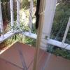 Mantenimiento para cerramiento con cortinas de cristal en terraza