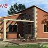 Casa de hormigón prefabricado