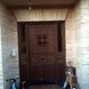 Cerramiento puerta entrada de casa