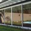 Cerramiento de terraza con cristal + puerta
