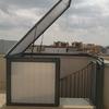 Cerramiento escalera de caracol terraza salou