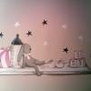 Pintar Mural de Conejito de 1mx1m
