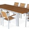 Conjunto de mesa y sillas exterior