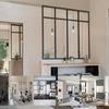 Manparas interior de hierro y vidrio - barcelona