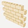 Muro continuo bloques hormigon