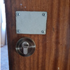 Manilla interior para abrir puerta blindada