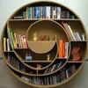 Muebles de carton, estanterías, cabecera, mesillas, espejo