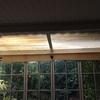 Cambiar cerramiento cristal y aluminio terraza jardín