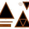 Construir estante en forma de triangulo