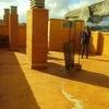 Poner suelo en terraza de 80 m2 y construir trastero