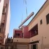 Pintar edificio con dos viviendas
