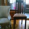 Tapizar 2 sillas descalzadoras