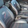 Tapizar asientos delanteros de un audi coupe en piel de vacuno (no polipiel)