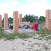 Construir muro en parcela
