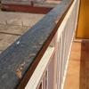 Reparación barandilla hierro balcón