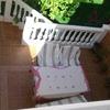 Instalar toldo en patio de vivienda