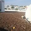 Proyectar espuma polieuretano en techo (exterior) de vivienda plano