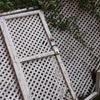 Colocación celosía con puerta de acceso a terraza