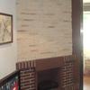 Quitar chimenea abierta y poner chimenea insert, picando pared