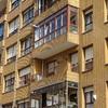 Cerramiento balcón 2º planta, materiales igual que el 1º