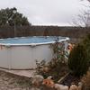 Construcción piscina acero enterrada