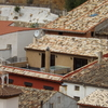 Montar pergola para la terraza adjunta, con tres lonas independientes y dejar libre y sin cubrir el lucernario