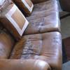 Quitar manchas de agua en sofa de piel , de 3 plazas