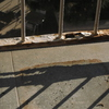 Reparar tramo barandilla de tubo de hierro rectangular