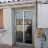 Instalacion de 2 persianas: una en puerta y otra en ventana pequeña