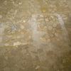 Pulido y abrillantado de terrazo en manchas de acido