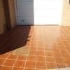 Sanear y volver a solar entrada a garaje