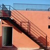 Escalera metálica exterior de altura 3 m