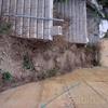Fabricación y colocación de escalera de hierro galvanizado en el exterior