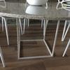 Estructura metálica para mesa de granito