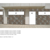 Realización cerramiento aluminio fachada local