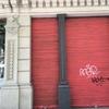 Pintar persiana metálica y marco de la puerta y escaparate