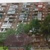 Pintar el enrejado de una terraza de una vivienda en una planta 12