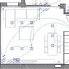 Falso techo con fosa perimetral salón